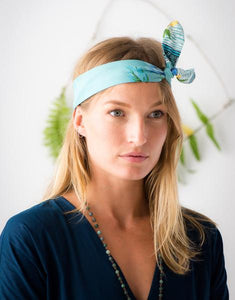 Lazybones Hair Wrap in Adeline