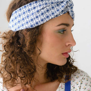 Lazybones Turban in Diamond