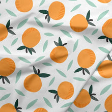 Load image into Gallery viewer, Paintbrush Studios Fruity Oranges White
