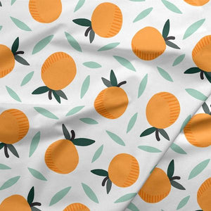 Paintbrush Studios Fruity Oranges White