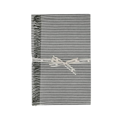 Abby Stripe Table Runner - Olive