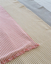 Load image into Gallery viewer, Abby Stripe Table Runner - Mustard