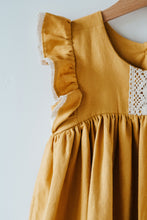 Load image into Gallery viewer, Clara Dress in Mustard