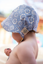 Load image into Gallery viewer, Reversible Sun Bonnet - Sage Flower