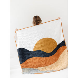 Sunset Reversible Quilt