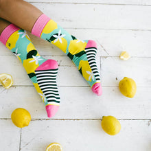 Load image into Gallery viewer, Pink Lemonade Socks