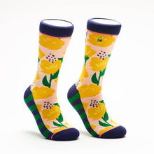 Load image into Gallery viewer, California Poppies Socks