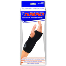 Load image into Gallery viewer, Champion Universal Wrist Support #0448