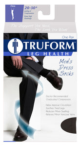 Truform Men's Compression Dress Socks (15-20* mmHg)