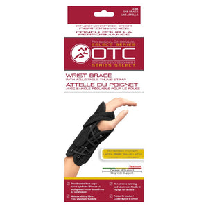 OTC Wrist Brace with Adjustable Thumb Strap #2365