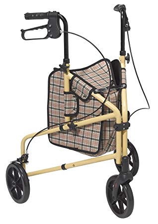 Drive Medical Winnie Lite Supreme/Go Lite 3 Wheel Aluminum Rollator