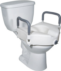 PCP Locking Raised Toilet Seat with Arms