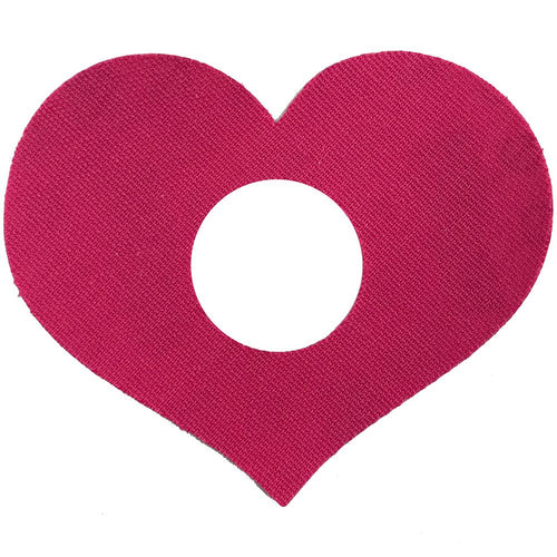 Freestyle Libre Heart Shaped Patch x 01