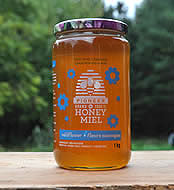 Pioneer Brand Unpasteurized Ontario Wildflower Honey