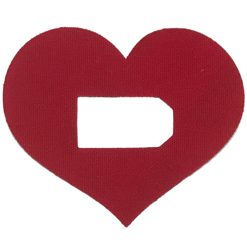 Dexcom G4/G5 Heart Shaped Patch x 01