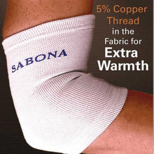 Load image into Gallery viewer, Sabona Copper Thread Elbow Support