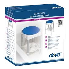 Drive Shower Stool with Rotating Seat