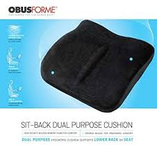 Obusforme Sit-Back Dual Purpose Cushion