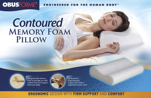 Obusforme Contoured Memory Foam Pillow