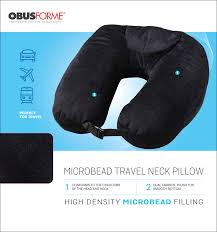 Obusforme Microbead Travel Neck Pillow