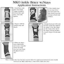 Load image into Gallery viewer, MKO Elite Quick Ankle Brace