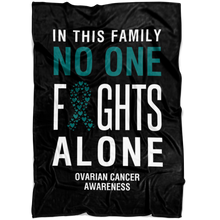Load image into Gallery viewer, Custom Designed Ovarian Cancer Blanket