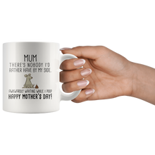 Load image into Gallery viewer, Awkwardly Standing By Dog Mum Mug