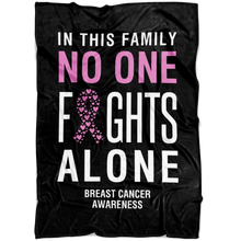 Load image into Gallery viewer, Custom Designed Breast Cancer Awareness Blanket