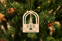 Load image into Gallery viewer, Jordan River Temple Christmas Ornament