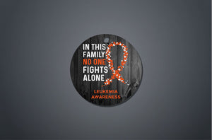 Leukemia Awareness Christmas Ornament