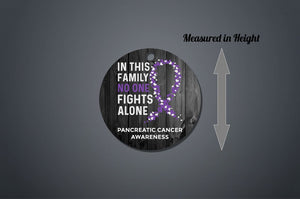 Pancreatic Cancer Awareness Christmas Ornament