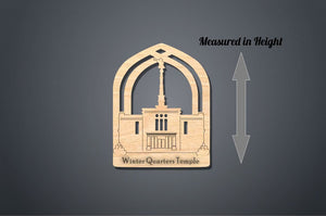 Winter Quarters Temple Christmas Ornament