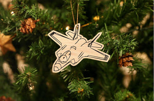 F-35 Fighter Jet Christmas Ornament