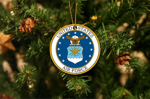 US Air Force Christmas Ornament