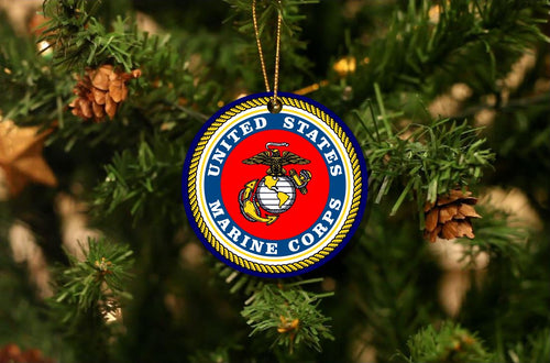 US Marine Corps Christmas Ornament