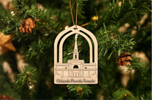 Load image into Gallery viewer, Orlando Florida Temple Christmas Ornament