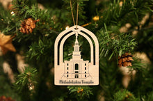 Load image into Gallery viewer, Philadelphia Temple Christmas Ornament