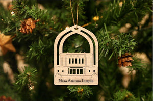 Mesa Arizona Temple Christmas Ornament