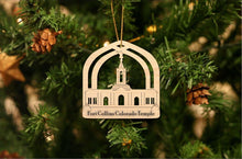 Load image into Gallery viewer, Fort Collins Colorado Temple Christmas Ornament