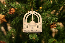 Load image into Gallery viewer, Edmonton Alberta Temple Christmas Ornament