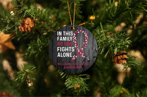 Williams Syndrome Awareness Christmas Ornament