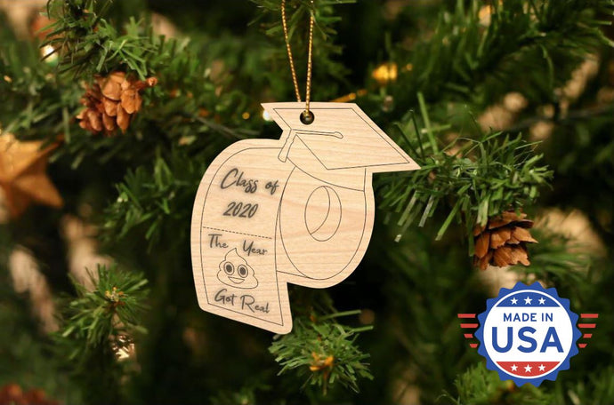 Class of 2020 Toilet Paper Christmas Ornament - 50% OFF When You Buy 10 Or More.