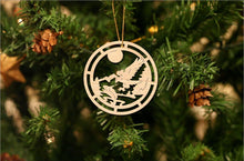 Load image into Gallery viewer, Eagle Christmas Ornament