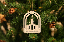 Load image into Gallery viewer, San Antonio Temple Christmas Ornament