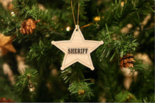Load image into Gallery viewer, Sheriff Christmas Ornament