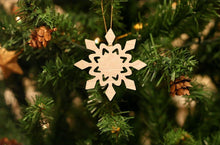 Load image into Gallery viewer, Snowflake Christmas Ornament