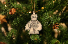 Load image into Gallery viewer, Superhero Christmas Ornament