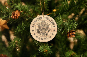 U.S. Army Christmas Ornament