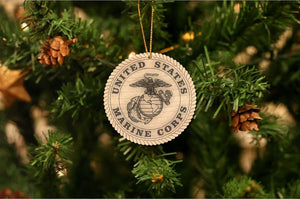U.S. Marine Corps Christmas Ornament