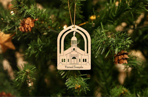 Vernal Temple Christmas Ornament